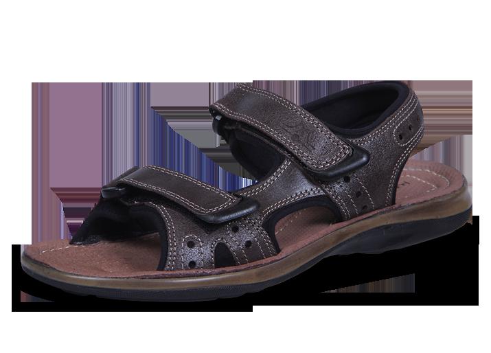 c942120b55d Спортни мъжки сандали от велур - Мъжки обувки от естествена кожа Кавалер