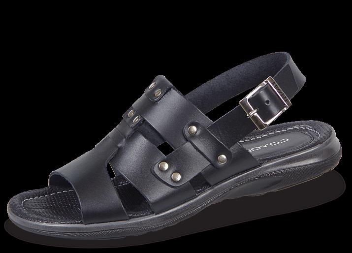 c9b0c3461b8 Мъжки сандали от естествена кожа - Мъжки обувки от естествена кожа ...