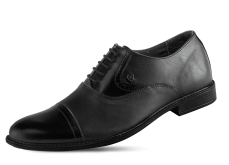 Male official shoes with ties photo